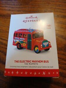 2016 Hallmark Keepsake The Electric Mayhem Bus The Muppets Magic Sound Ornament