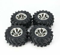1/10 Rc Truck Wheels & Tires for Traxxas Rustler Stampede Bigfoot Grave Digger