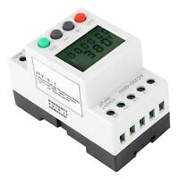 JFY-5-1 Over & Under Voltage Relay Voltage Monitor Protection Relay 3 Phase