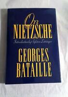 On Nietzsche (European Sources) - Hardcover By Bataille, Georges - GOOD
