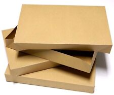 "Gift Boxes Large Brown 3 Count 17"" x 11""  x 2-1/4"" NEW"