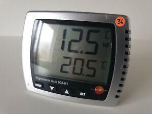 Testo 608-H1 Temperature & Humidity Monitor (36)