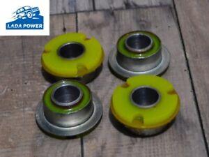 Lada Samara Kalina Front Axle Tie Rod Rear Silentblocks Kit Polyurethane