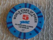 RIO ALL-SUITE CASINO WORLD STARS OF POKER 5 NCV hotel casino gaming poker chip