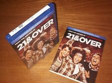 21 & (AND) OVER Blu-ray US import region a free P&P(rare OOP slipcover slipcase)