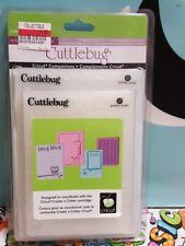 CUTTLEBUG  Create a Critter Giraffe Owl Bird SET OF4 EMBOSSING Folders