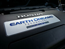 GENUINE HONDA EARTH DREAMS i-VTEC ENGINE EMBLEM BADGE ACCORD CITY CIVIC JAZZ CRV