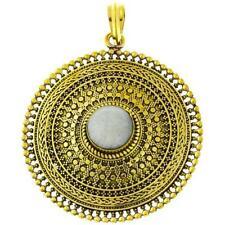 Modeschmuck-Halsketten & -Anhänger aus Stein für Damen mit Mondstein