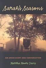 Very Good, Sarah's Seasons: An Amish Diary and Conversation (Bur Oak Books), Mar
