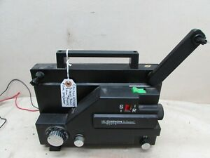 Vintage Chinon 727 Whisper Silent Dual 8mm Projector