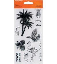 Fiskars Clear Stamps - Tropical Getaway #866