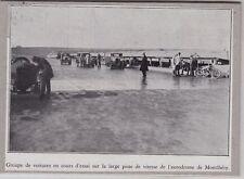 1932  --  VOITURES AUX ESSAIS A L AUTODROME DE MONTHLERY   3G211