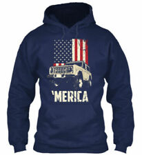 1966-74 Bronco Sport Truck Merica USA Unisex Hoodie