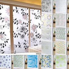 Privacy Window Film Waterproof Glass Door Adhesive Window Sticker Decals Decor