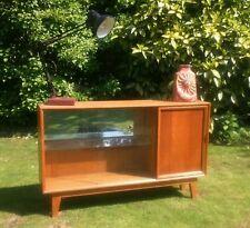 Oak Vintage/Retro Display Cabinets