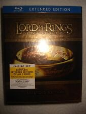 The Lord Of The Rings Trilogy Extended USA Blu-ray NEW Sealed perfect condition