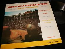 """BANDA DE AVIACION<>MUSICA DE LA CORRID<>12"""" Lp Vinyl~USA Pressing~SRLP 10094"""