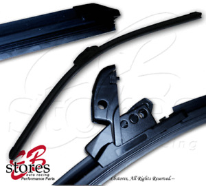 "1 Pc (Single One) 24"" 600mm Bayonet Pin Arm Windshield Wiper Blade -Driver Side-"