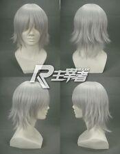 Okita Souji Gokudera Hayato Allen Walker Xerxes Break Gintama Cosplay Wig + Cap