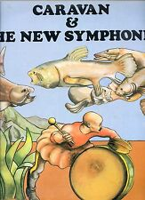 CARAVAN & THE NEW SYMPHONIA holand 1974 EX LP