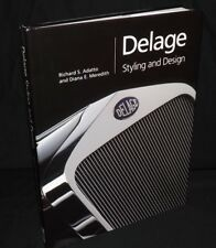 DELAGE STYLING AND DESIGN DALTON WATSON HARDBACK BOOK 2LCV 2005