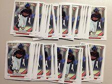 2014 Bowman Draft Nick Gordon 38 card lot DP126 Minnesota Twins