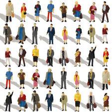 40 Stk. verschieden stehende Figuren Passanten Spur H0 1:87