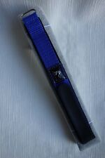Nylon Hook & Loop Watch Strap Band Colour Royal Blue 22mm