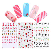 Nail Water Decal  Series Tropical Fruit Nail Art Transfer Sticker Tips