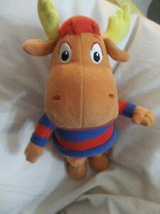 Ty Beanie Baby Backyardigans Tyrone Moose Stuffed Plushie