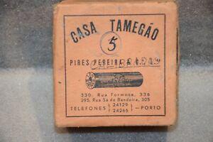 Vintage Old Box of Shotgun Hunting Cartridges Casa Tamegão Portugal Empty Box
