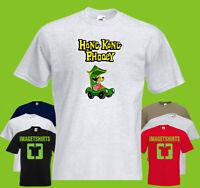HONG KONG PHOOEY CAR 80's retro Cartoon T shirt Tee shirt T-shirt Gift Men's