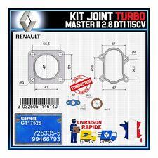 Joints Turbo 2.8 dTi 115 Cv Renault Master 99466793 Garrett GT1752S 725305-5
