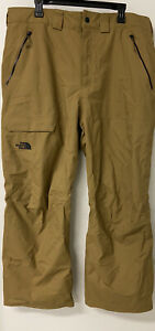 The North Face Seymore Mens XL Water & Wind Resistant Beige-Brown  Snow Pants