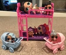 LOL Bunk Bed and strollers for a LOL Doll, LOL Doll Accessory,Dolls Not Included