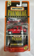 Matchbox PREMIERE Collection - SEATTLE Fire Department Chevrolet Tahoe! New!