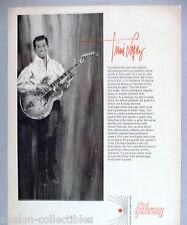 Trini Lopez Model Gibson Guitar PRINT AD - 1966