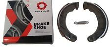 ukscooters LAMBRETTA BRAKE SHOES FRONT OR REAR LI TV SX MAKINO WITH FREE SPRING