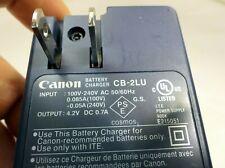 Canon CB-2LU charger camera genuine original for NB-3L Battery SD500 SD550 SD100