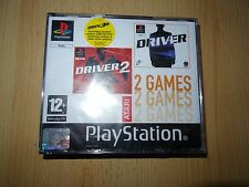 Driver 1 & 2 - Big Box Version - Playstation 1 PS1 Game PAL NEW SEALED