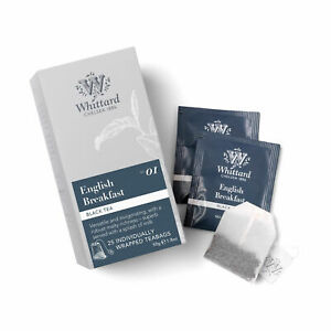 Whittard of Chelsea Herbal Tea Bags Sachets Envelopes - Choose From 17+ Flavours
