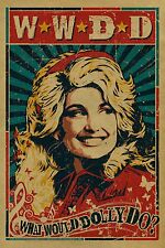 Vintage Dolly Parton Iron On Transfer For T-Shirt & Other Light Color Fabrics #2