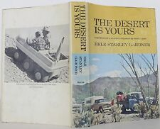 EARLE STANLEY GARDNER The Desert Is Yours INSCRIBED FIRST EDITION