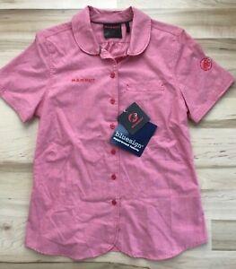Mammut Trovat Shirt, Pink (Light Carmine), Women's Small, MSRP $65.00