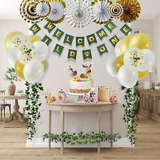 Baby Shower Decorations Boy Girl Gender Reveal Party Supplies Kit Balloons Game