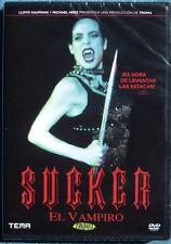"""""""SUCKER EL VAMPIRO (""""SUCKER THE VAMPIRE"""")  DVD NUEVO!! DVD NEW !!  TROMA !!"""