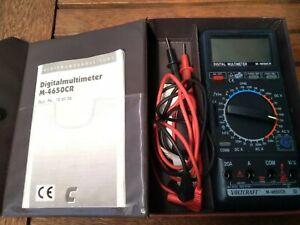 Multimeter * Voltcraft * M 4640 CR, Messkabel * Tasche * Top