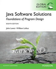 NEW 3 Day AUS Java Software Solutions 8E Loftus John Lewis (Mixed Media Product)