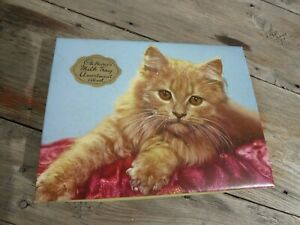 Vintage Cadbury Milk Tray Chocolate Box with Kitten Cat