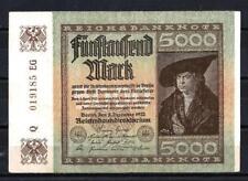 Allemagne  - Germany billet de 50000 mark (1) pick 81d 2 décembre 1922 Very Fine